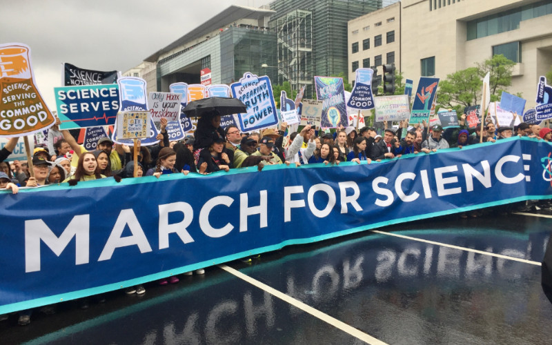 Image: March for Science.
