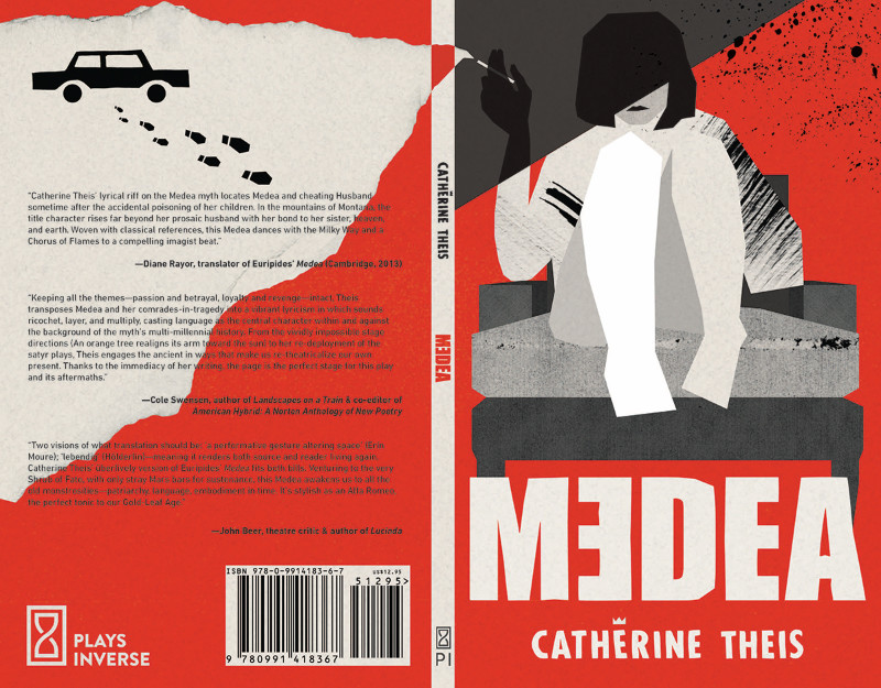 Image: Cover of Medea by Catherine Theis.
