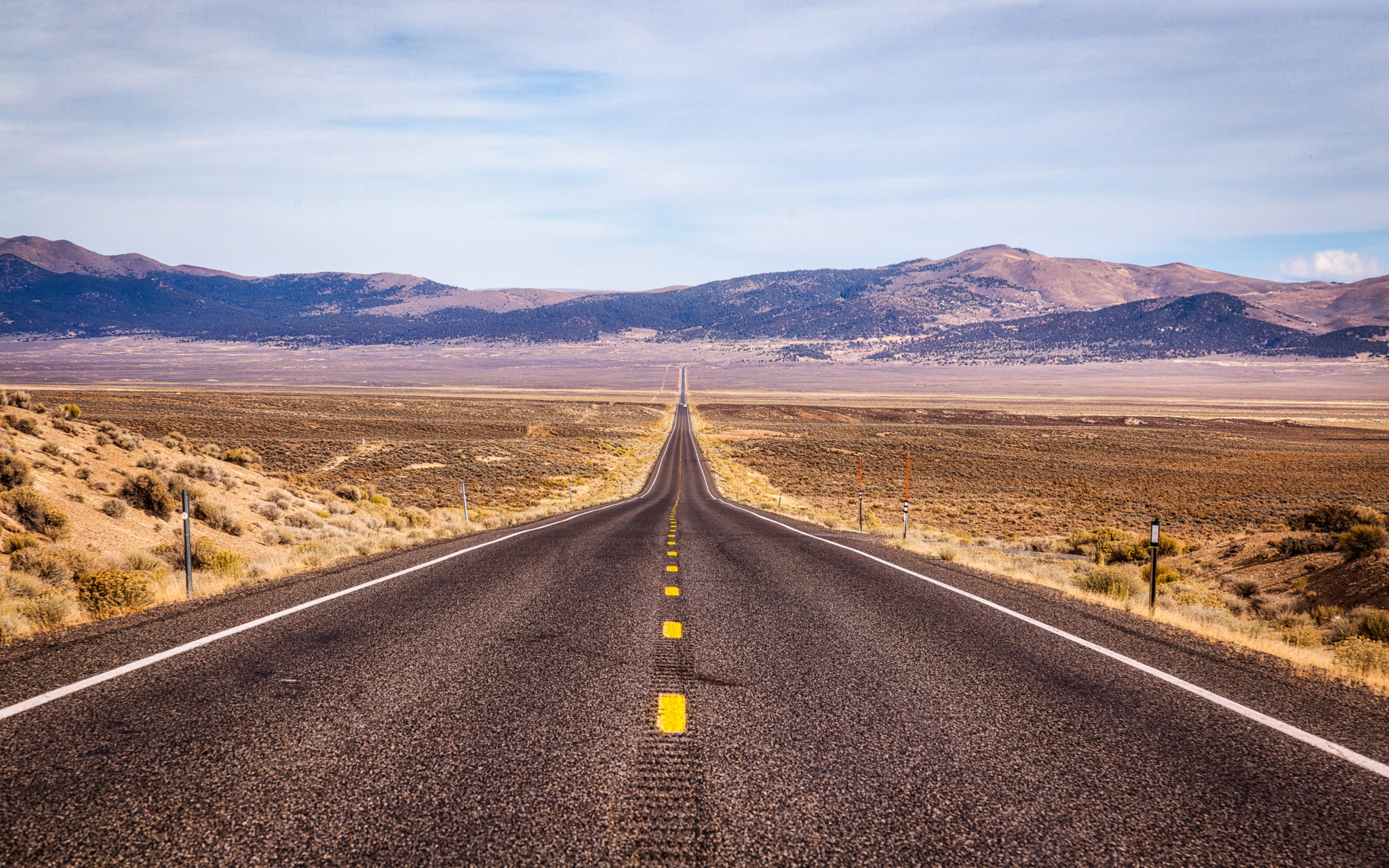 "Pictured: ""U.S. Route 50 Nevada The Loneliest Road"" by Mobilus In Mobili is licensed under CC BY-SA 2.0"